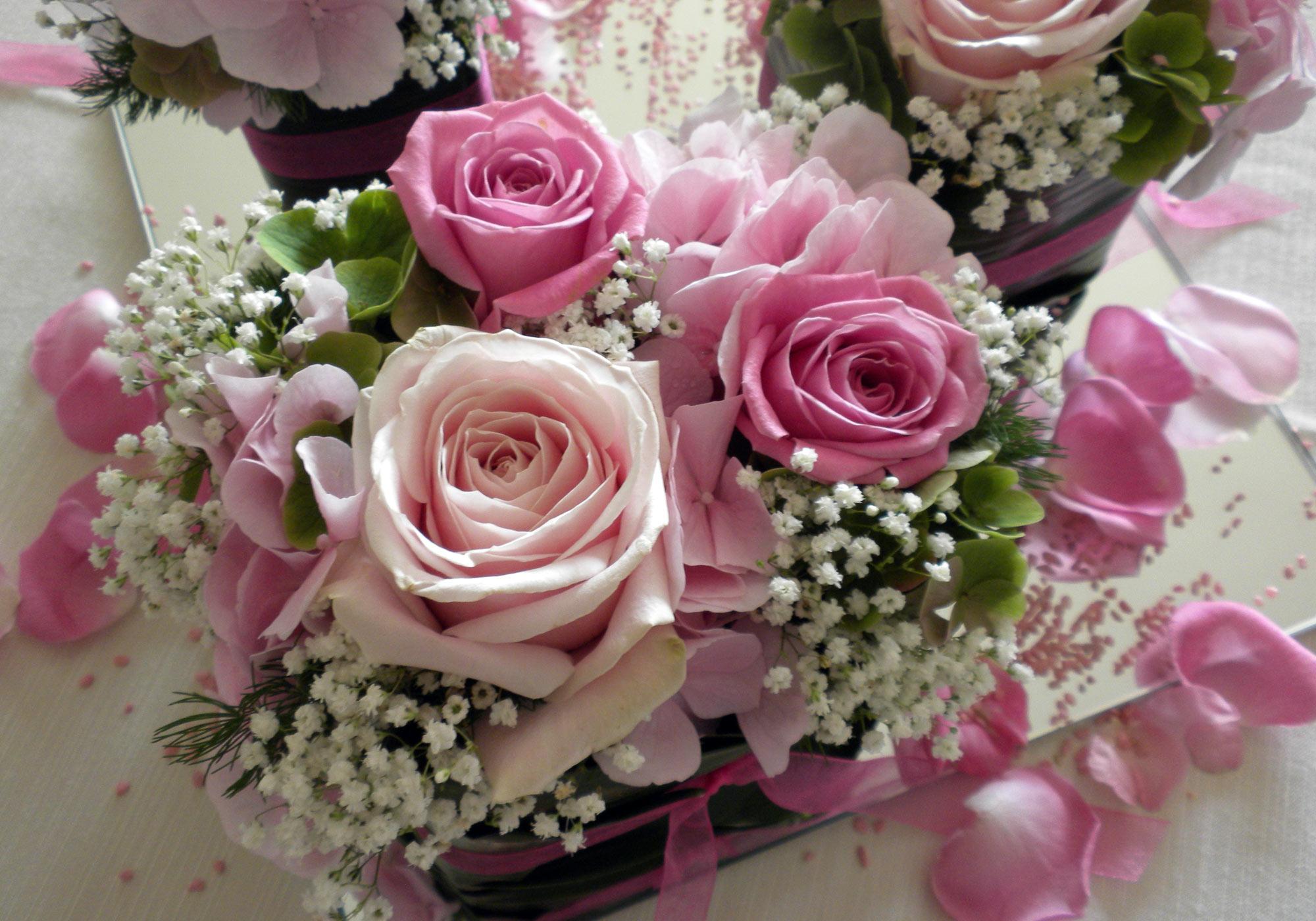 immagini fiori centrotavola e composizioni fioristeria