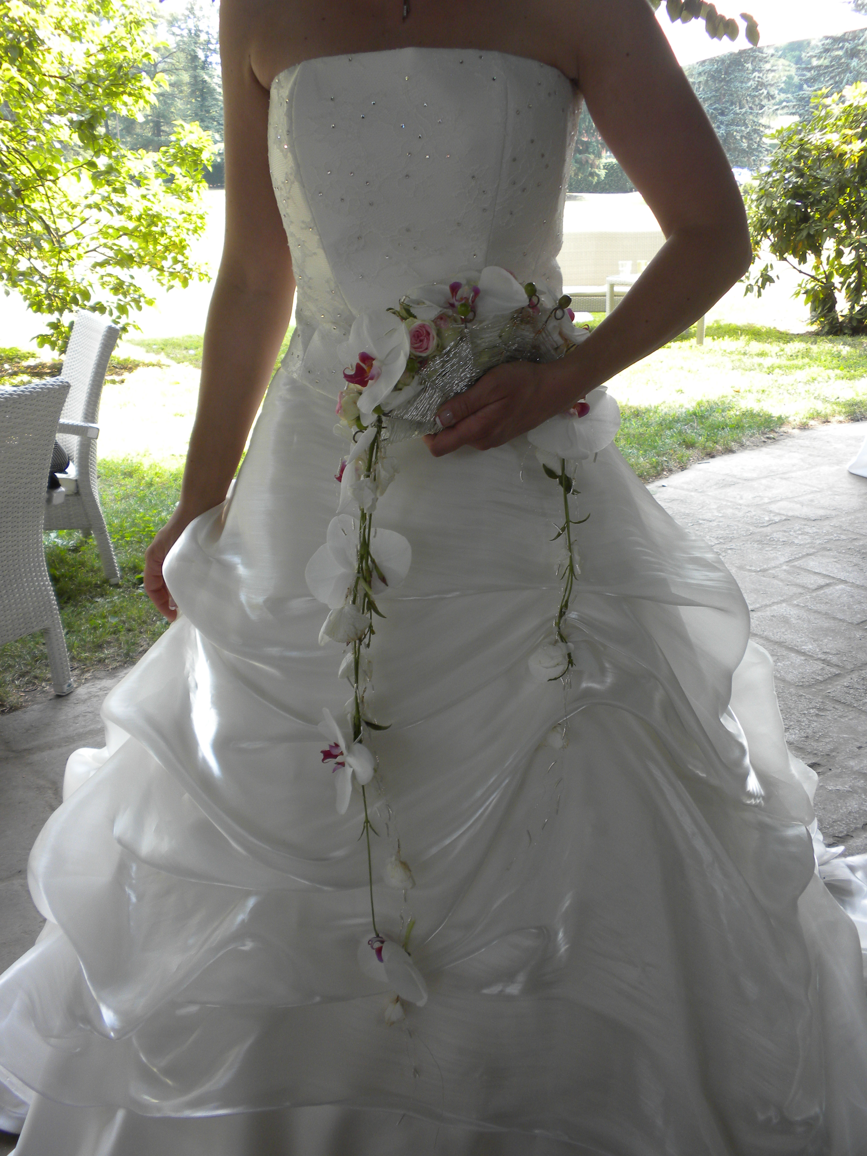 Bouquet Sposa Ventaglio.Mazzo Da Sposa Ventaglio Argento Fiori Per Matrimoni