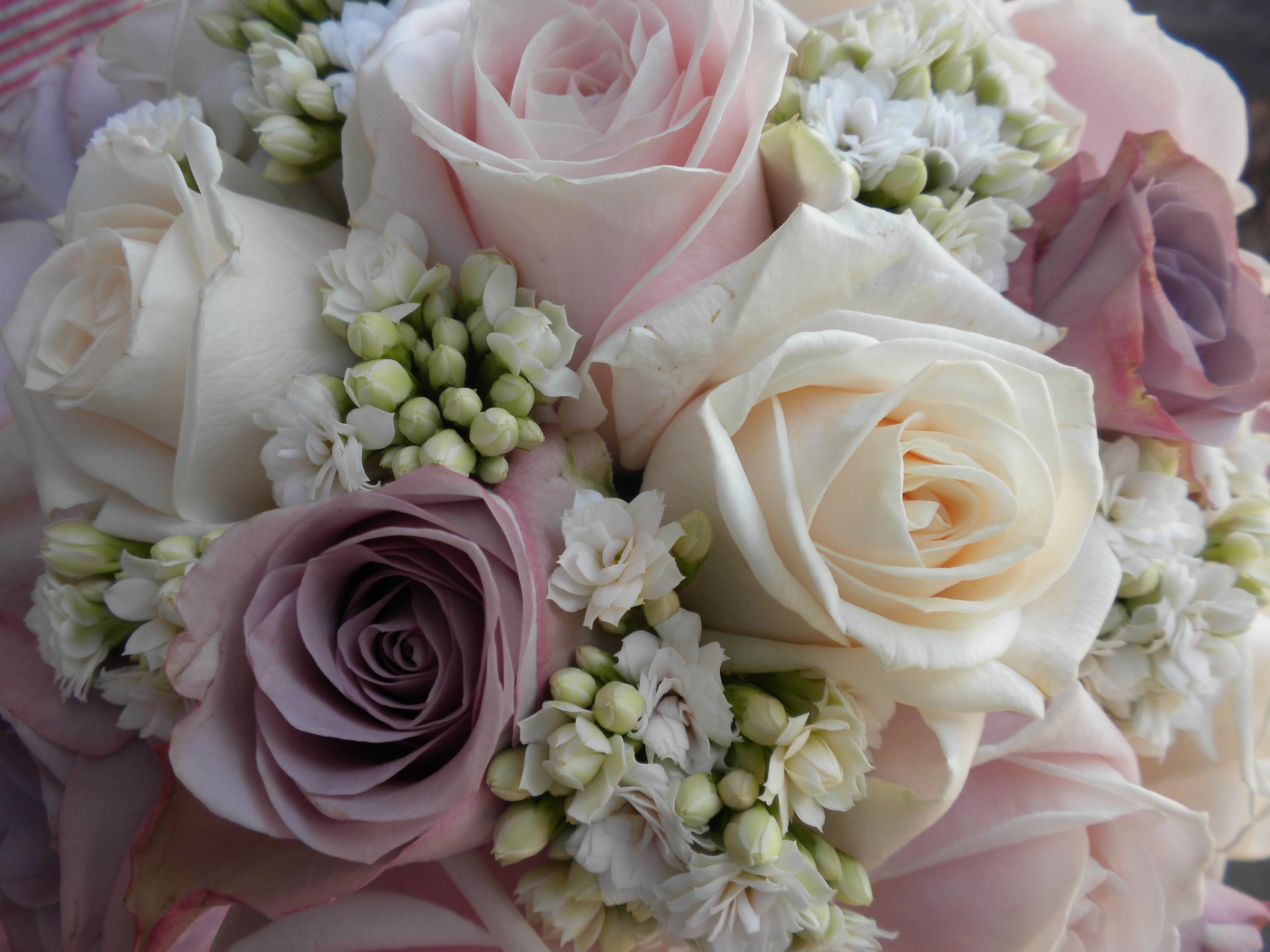 Fiori Per Matrimonio.Tondo Rosa Lilla Fiori Per Matrimoni Fioristeria Clerici